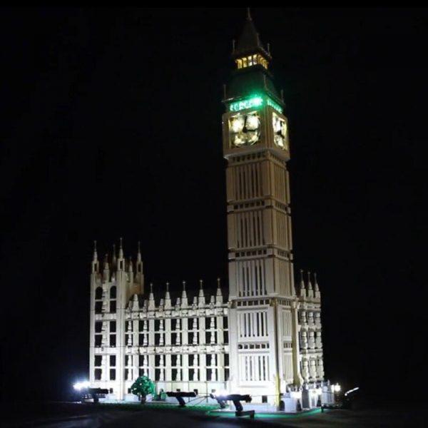 LED Light Kit for lego 10253 Compatible 17005 City Creator Big Ben Building Blocks Bricks Toys - Bricks Delight