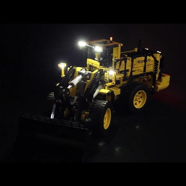 LED Light for lego 42030 Compatible 20006 technic Volvo L350F wheel loader Building Blocks Bricks only 1 - Bricks Delight