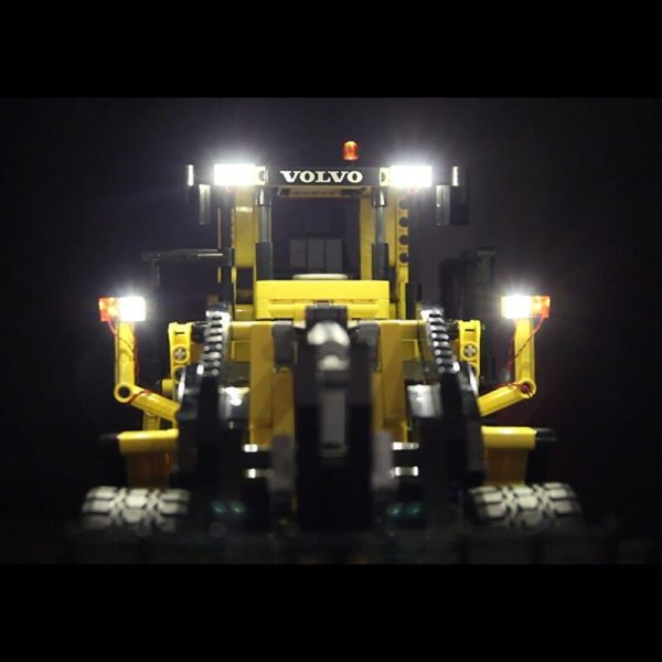 LED Light for lego 42030 Compatible 20006 technic Volvo L350F wheel loader Building Blocks Bricks only 2 - Bricks Delight