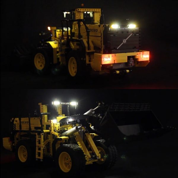 LED Light for lego 42030 Compatible 20006 technic Volvo L350F wheel loader Building Blocks Bricks only - Bricks Delight