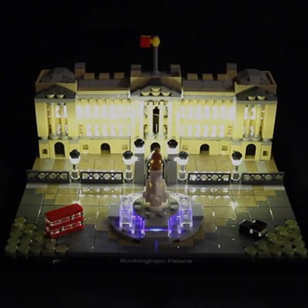 LED light for lego 21029 Architecture Series Buckingham Palace Building Blocks Bricks Toys Gifts only light 1 - Bricks Delight