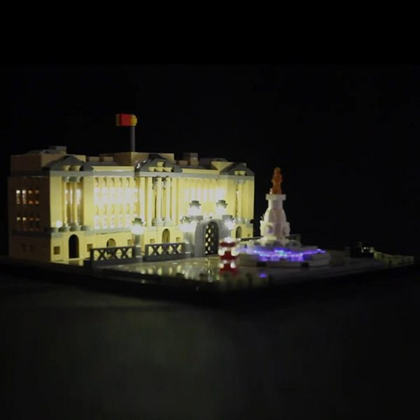 LED light for lego 21029 Architecture Series Buckingham Palace Building Blocks Bricks Toys Gifts only light 2 - Bricks Delight
