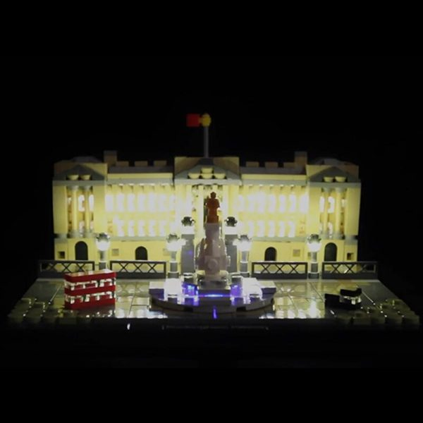 LED light for lego 21029 Architecture Series Buckingham Palace Building Blocks Bricks Toys Gifts only light 3 - Bricks Delight