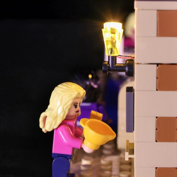 LED light for lego 21302 Compatible 16024 Big Bang Theory Building Blocks Bricks Toys Gifts only 1 - Bricks Delight