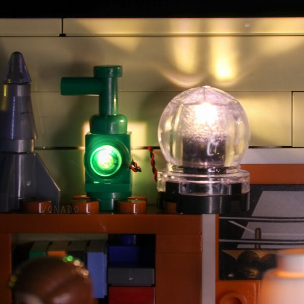 LED light for lego 21302 Compatible 16024 Big Bang Theory Building Blocks Bricks Toys Gifts only 2 - Bricks Delight