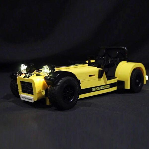LED light for lego 21307 CATERHAM SEVEN 620R Race Car Building Blocks Bricks Toys for Kids 1 - Bricks Delight
