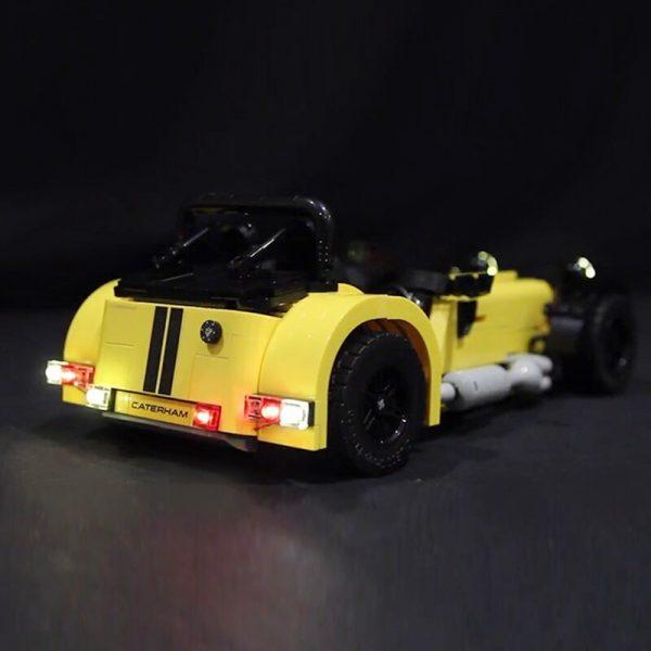 LED light for lego 21307 CATERHAM SEVEN 620R Race Car Building Blocks Bricks Toys for Kids 2 - Bricks Delight