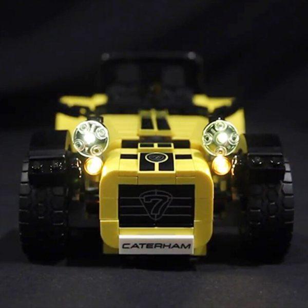 LED light for lego 21307 CATERHAM SEVEN 620R Race Car Building Blocks Bricks Toys for Kids - Bricks Delight