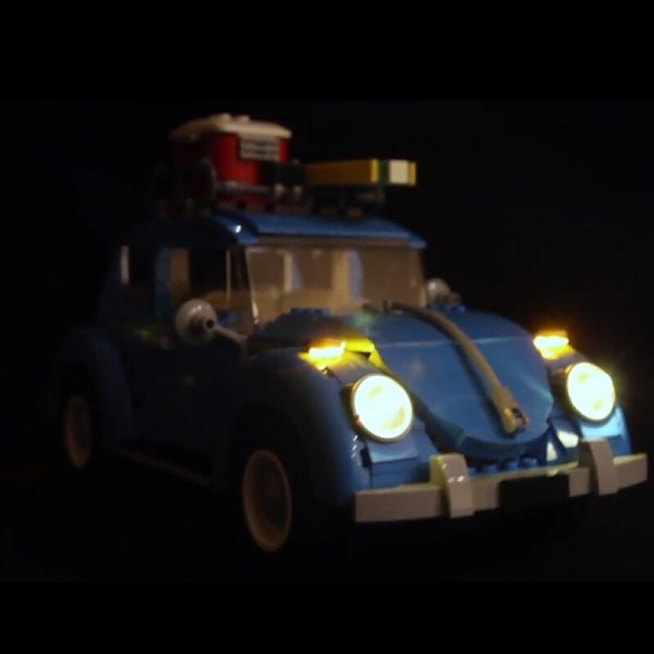 LED light up kit for lego 10252 technic City Car Beetle Model Compatible 21003 Building Blocks 1 - Bricks Delight