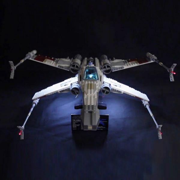 Led Light For Lego 10240 X Wing Red Five Star War fighter Compatible 05039 Building Blocks 1 - Bricks Delight