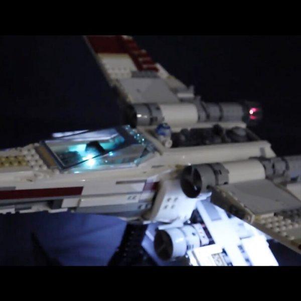 Led Light For Lego 10240 X Wing Red Five Star War fighter Compatible 05039 Building Blocks 2 - Bricks Delight