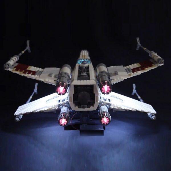 Led Light For Lego 10240 X Wing Red Five Star War fighter Compatible 05039 Building Blocks 3 - Bricks Delight