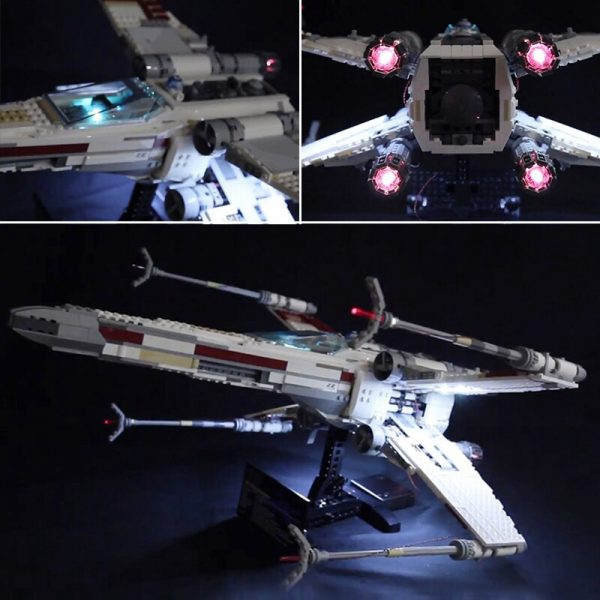 Led Light For Lego 10240 X Wing Red Five Star War fighter Compatible 05039 Building Blocks - Bricks Delight