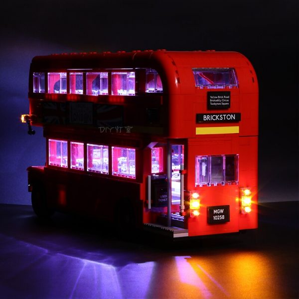 Led Light For Lego 10258 London bus Building bricks Compatible 21045 Creator City technic Blocks Toys 1 - Bricks Delight