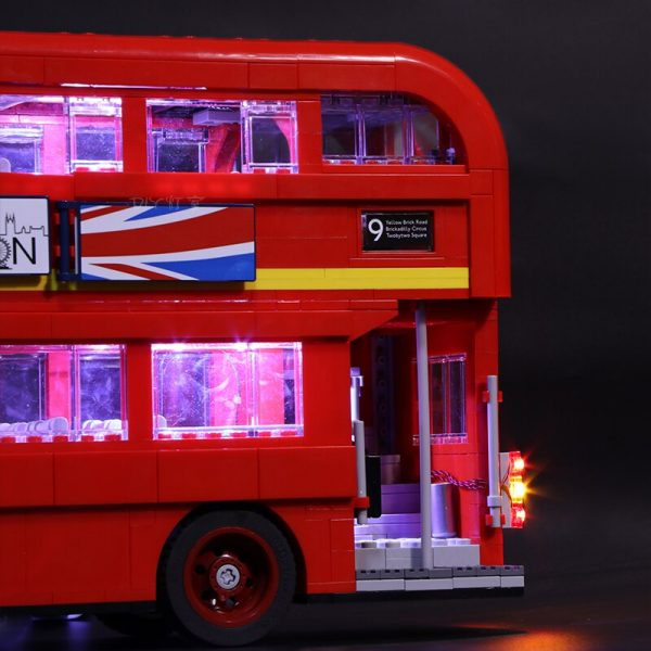 Led Light For Lego 10258 London bus Building bricks Compatible 21045 Creator City technic Blocks Toys 3 - Bricks Delight
