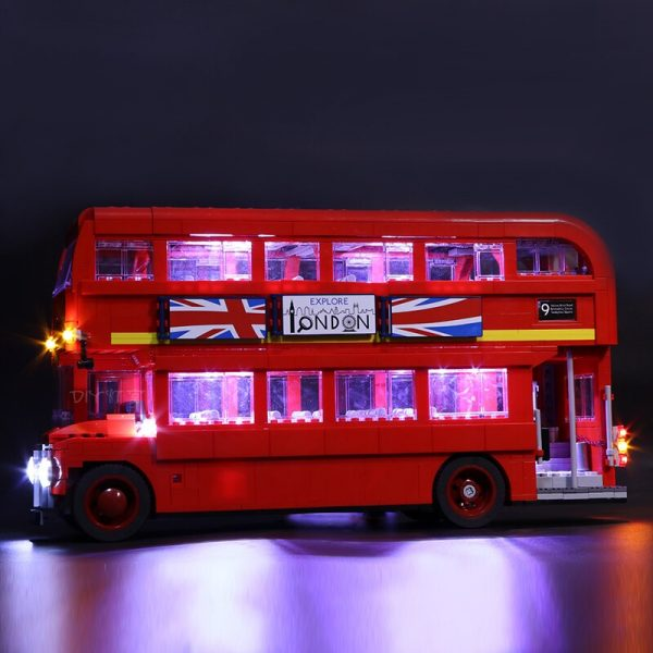 Led Light For Lego 10258 London bus Building bricks Compatible 21045 Creator City technic Blocks Toys - Bricks Delight