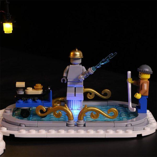 Led Light For Lego 10263 Creator Winter Village Fire Station Compatible 36014 Building Blocks Toys Gifts 2 - Bricks Delight