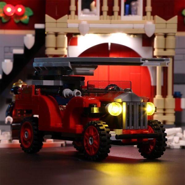 Led Light For Lego 10263 Creator Winter Village Fire Station Compatible 36014 Building Blocks Toys Gifts 3 - Bricks Delight