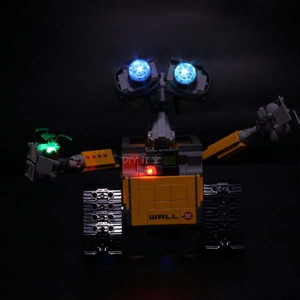 Led Light For Lego 21303 Compatible 16003 Idea Robot WALL E Eyes Flashing Light Building Blocks 1 - Bricks Delight