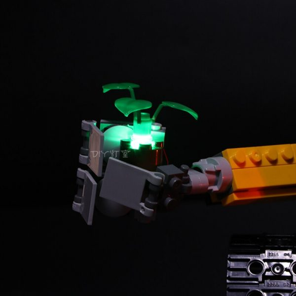 Led Light For Lego 21303 Compatible 16003 Idea Robot WALL E Eyes Flashing Light Building Blocks 2 - Bricks Delight