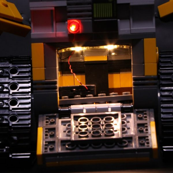 Led Light For Lego 21303 Compatible 16003 Idea Robot WALL E Eyes Flashing Light Building Blocks 3 - Bricks Delight