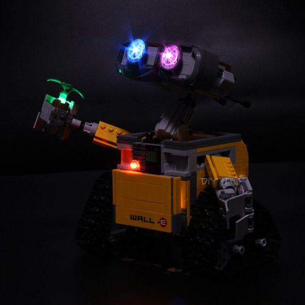 Led Light For Lego 21303 Compatible 16003 Idea Robot WALL E Eyes Flashing Light Building Blocks - Bricks Delight