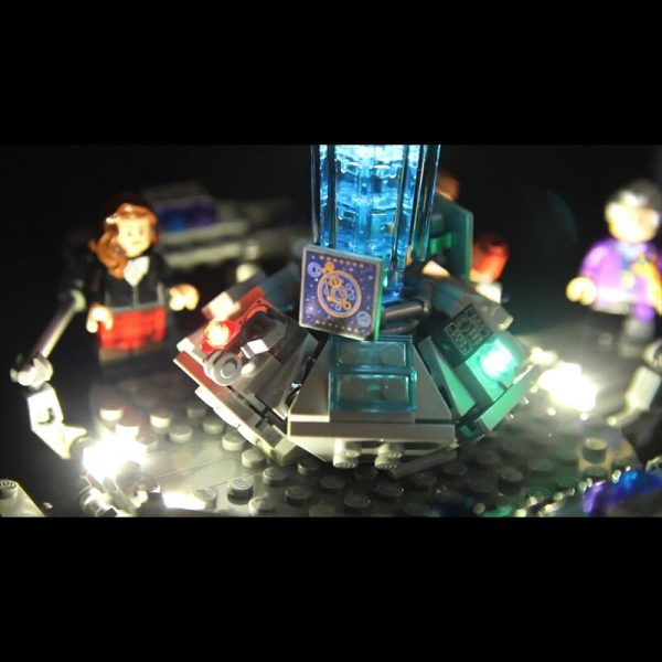 Led Light For Lego 21304 Building Bricks Blocks Creator City Dr Who Time travel with the 2 - Bricks Delight