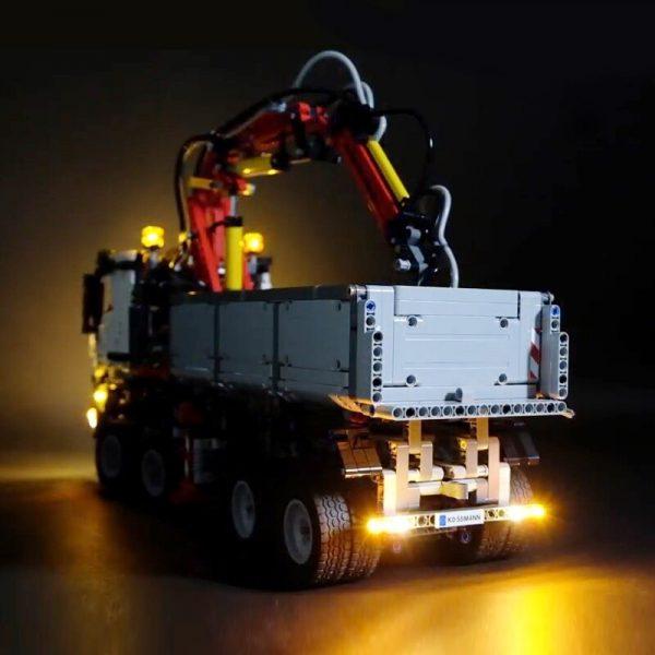 Led Light For Lego 42043 Building Brick Blocks Compatible 20005 technic the Arocs 3245 truck car 2 - Bricks Delight