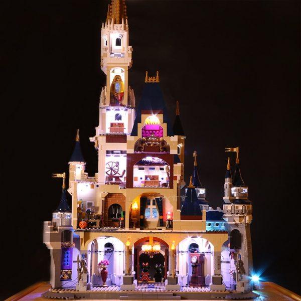 Led Light For Lego 71040 Creative City Cinderella Princess Castle Compatible 16008 Building Blocks Toys only 1 - Bricks Delight