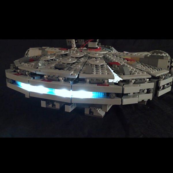 Led Light For Lego 75105 Star Wars The Force Awakens Millennium Falcon Compatible 05007 Building Blocks 1 - Bricks Delight