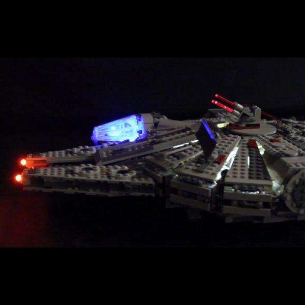 Led Light For Lego 75105 Star Wars The Force Awakens Millennium Falcon Compatible 05007 Building Blocks 2 - Bricks Delight