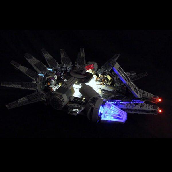 Led Light For Lego 75105 Star Wars The Force Awakens Millennium Falcon Compatible 05007 Building Blocks - Bricks Delight