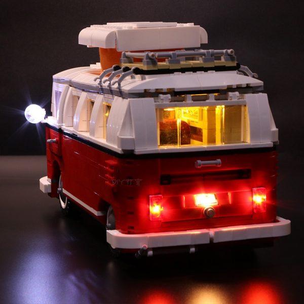 Led Light Set For Lego 10220 Compatible 21001 Creator Volkswagen T1 Camper Van Building Blocks Bricks 1 - Bricks Delight