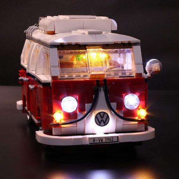 Led Light Set For Lego 10220 Compatible 21001 Creator Volkswagen T1 Camper Van Building Blocks Bricks - Bricks Delight
