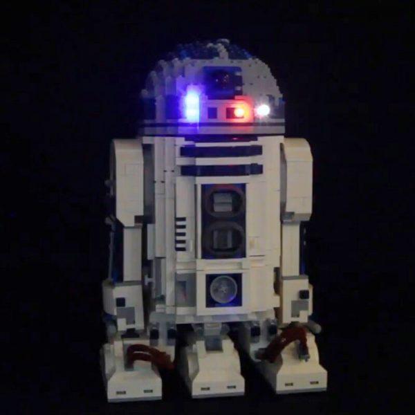 Led Light Set For Lego 10225 star wars R2 D2 Robot Compatible 05043 Building Blocks Bricks 1 - Bricks Delight