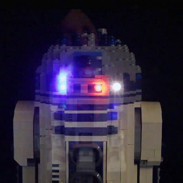 Led Light Set For Lego 10225 star wars R2 D2 Robot Compatible 05043 Building Blocks Bricks 2 - Bricks Delight