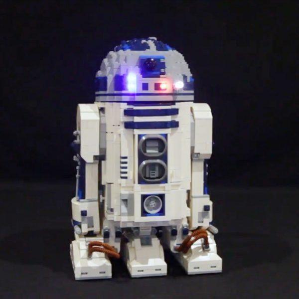 Led Light Set For Lego 10225 star wars R2 D2 Robot Compatible 05043 Building Blocks Bricks - Bricks Delight