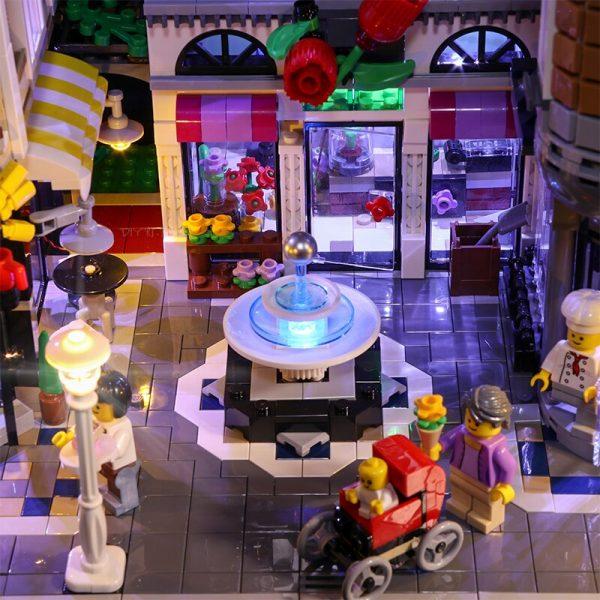Led Light Set For Lego 10255 Building Blocks Creator City Street Assembly Square Toys Compatible 15019 1 - Bricks Delight