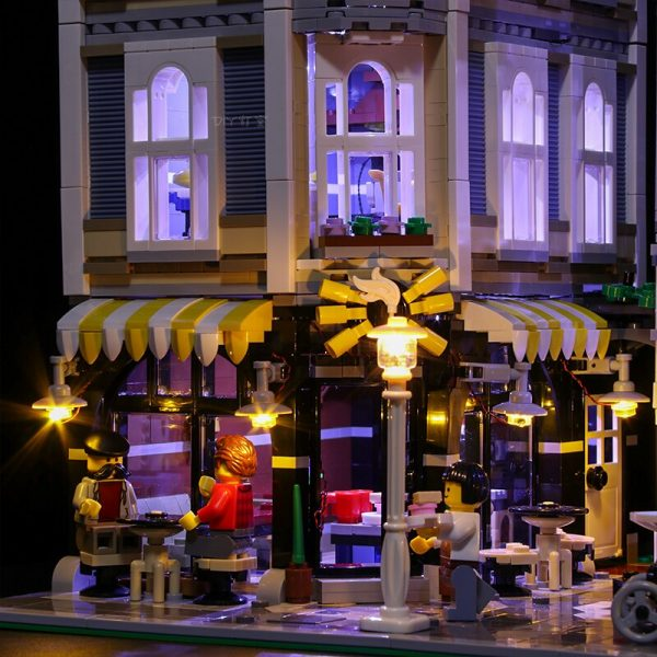 Led Light Set For Lego 10255 Building Blocks Creator City Street Assembly Square Toys Compatible 15019 2 - Bricks Delight