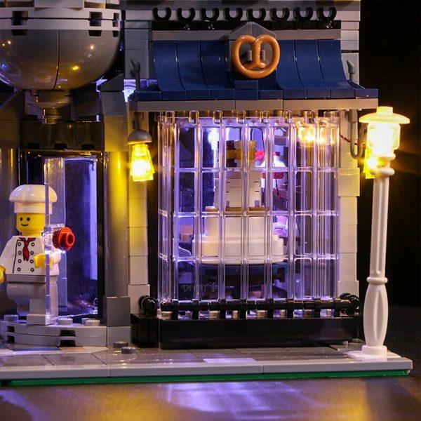 Led Light Set For Lego 10255 Building Blocks Creator City Street Assembly Square Toys Compatible 15019 3 - Bricks Delight