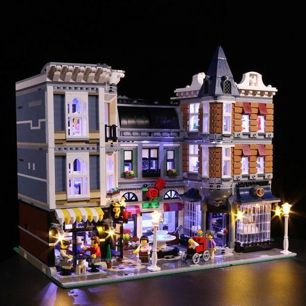 Led Light Set For Lego 10255 Building Blocks Creator City Street Assembly Square Toys Compatible 15019 - Bricks Delight