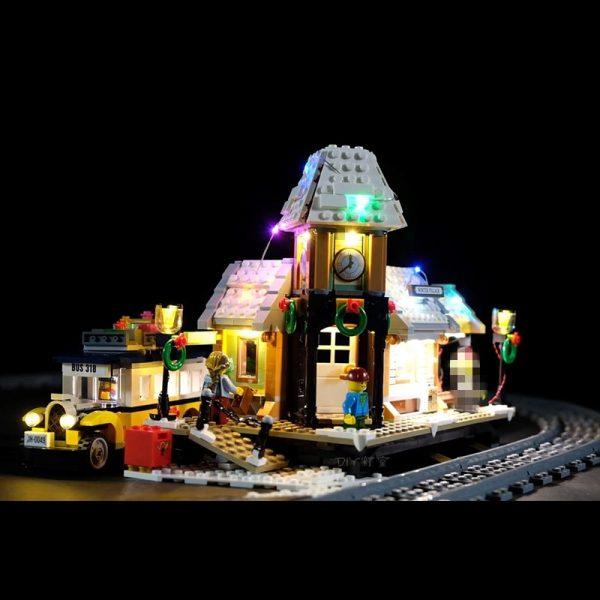 Led Light Set For Lego 10259 The Winter Village Set Compatible 36011 friend Genuine Creative Series 1 - Bricks Delight