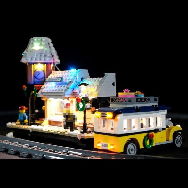 Led Light Set For Lego 10259 The Winter Village Set Compatible 36011 friend Genuine Creative Series 2 - Bricks Delight
