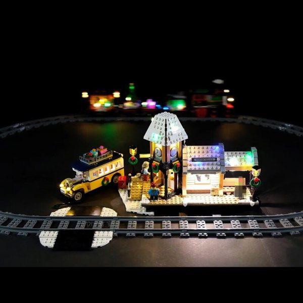Led Light Set For Lego 10259 The Winter Village Set Compatible 36011 friend Genuine Creative Series 3 - Bricks Delight