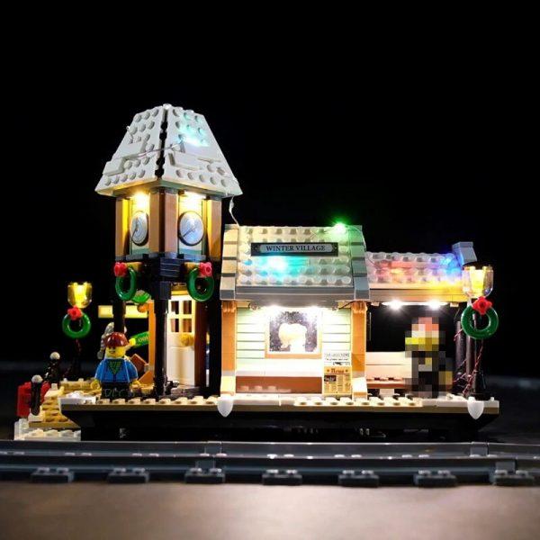 Led Light Set For Lego 10259 The Winter Village Set Compatible 36011 friend Genuine Creative Series - Bricks Delight