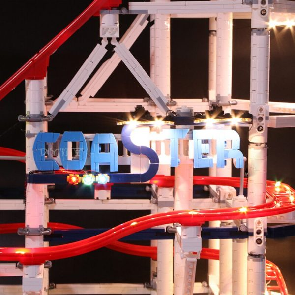 Led Light Set For Lego 10261 The roller coaster Compatible 15039 city creator Building Blocks Bricks 2 - Bricks Delight