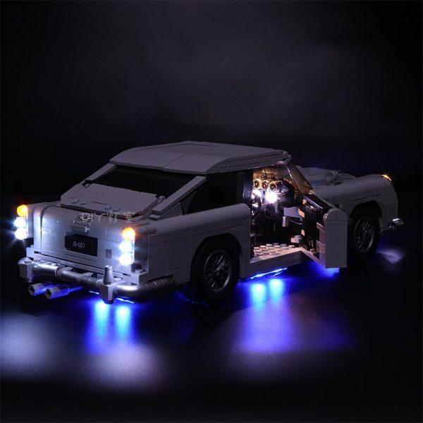 Led Light Set For Lego 10262 Compatible 21046 Aston Martin DB5 Building Blocks Bricks technic race - Bricks Delight