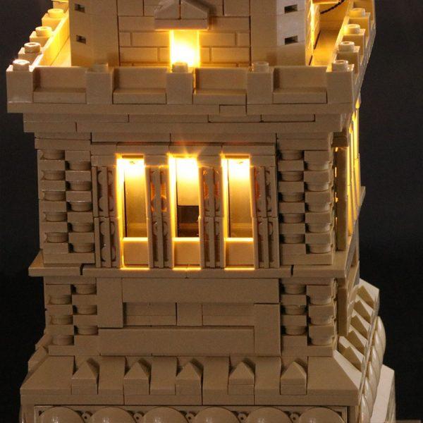 Led Light Set For Lego 21042 Compatible 17011 Statue of Liberty Building Block Toys for Children 1 - Bricks Delight