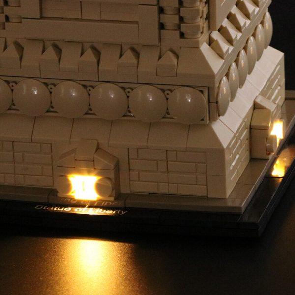 Led Light Set For Lego 21042 Compatible 17011 Statue of Liberty Building Block Toys for Children 2 - Bricks Delight