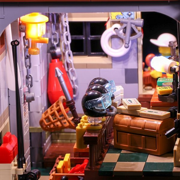 Led Light Set For Lego 21310 Building Blocks Creator City Street Compatible 16050 Old Fishing Store 1 - Bricks Delight